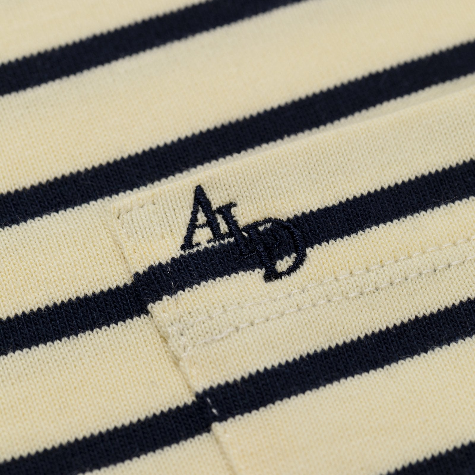 SS Stripe Pocket Tee