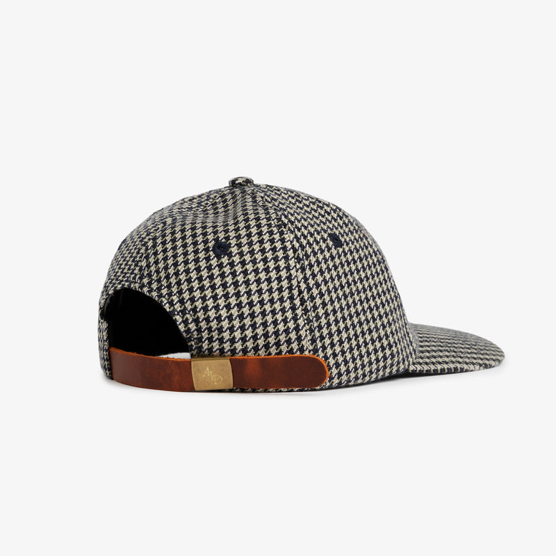Houndstooth Flannel Cap