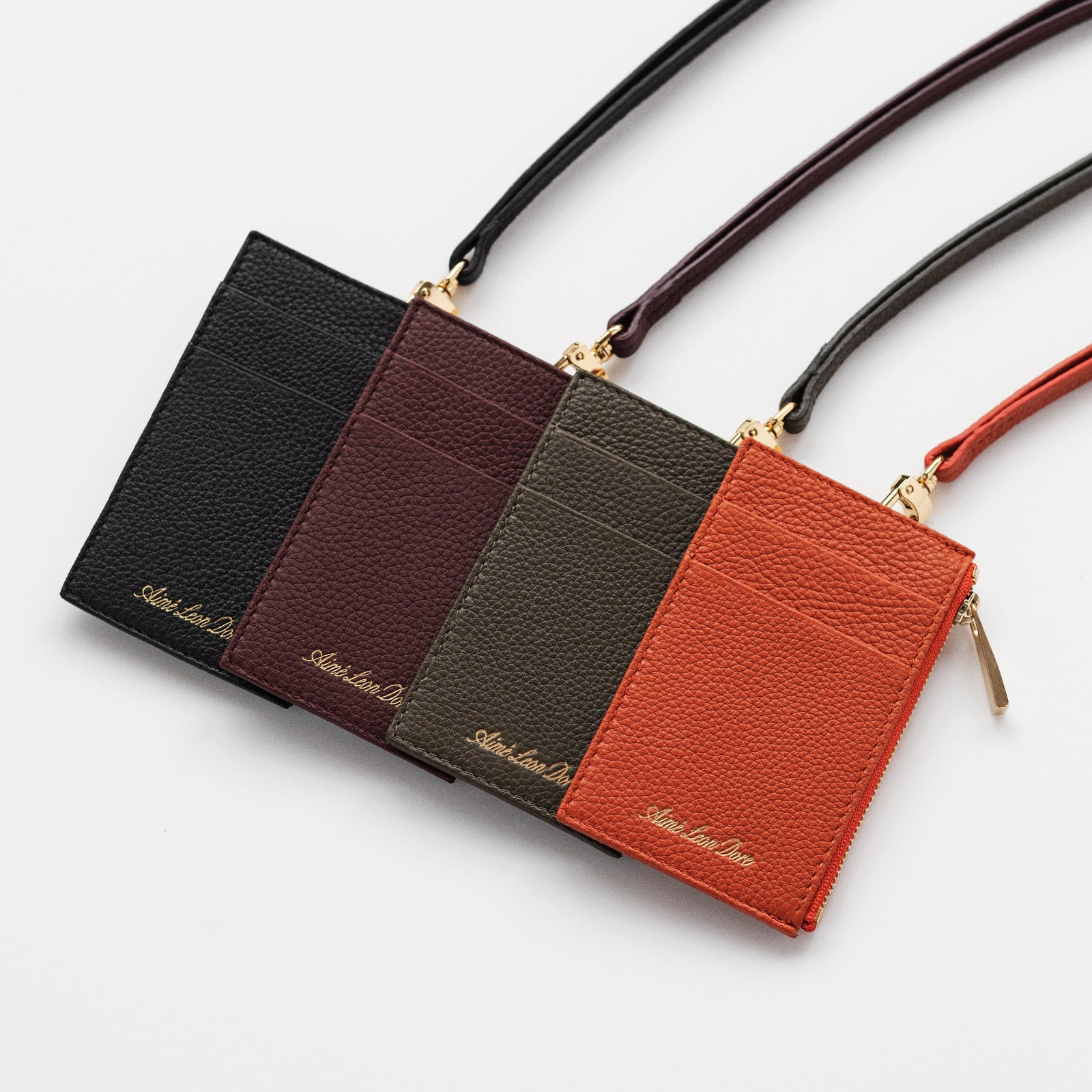 ALD Leather Neck Wallet