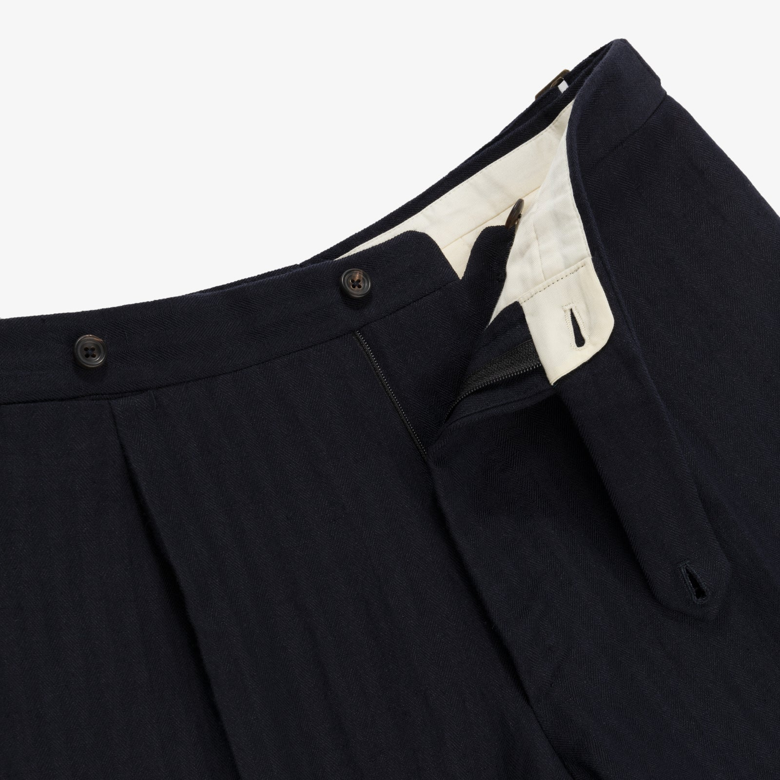ALD / Drake's Wool Suit Trouser