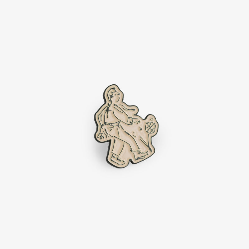 ALD / Drake's Ball Player Pin