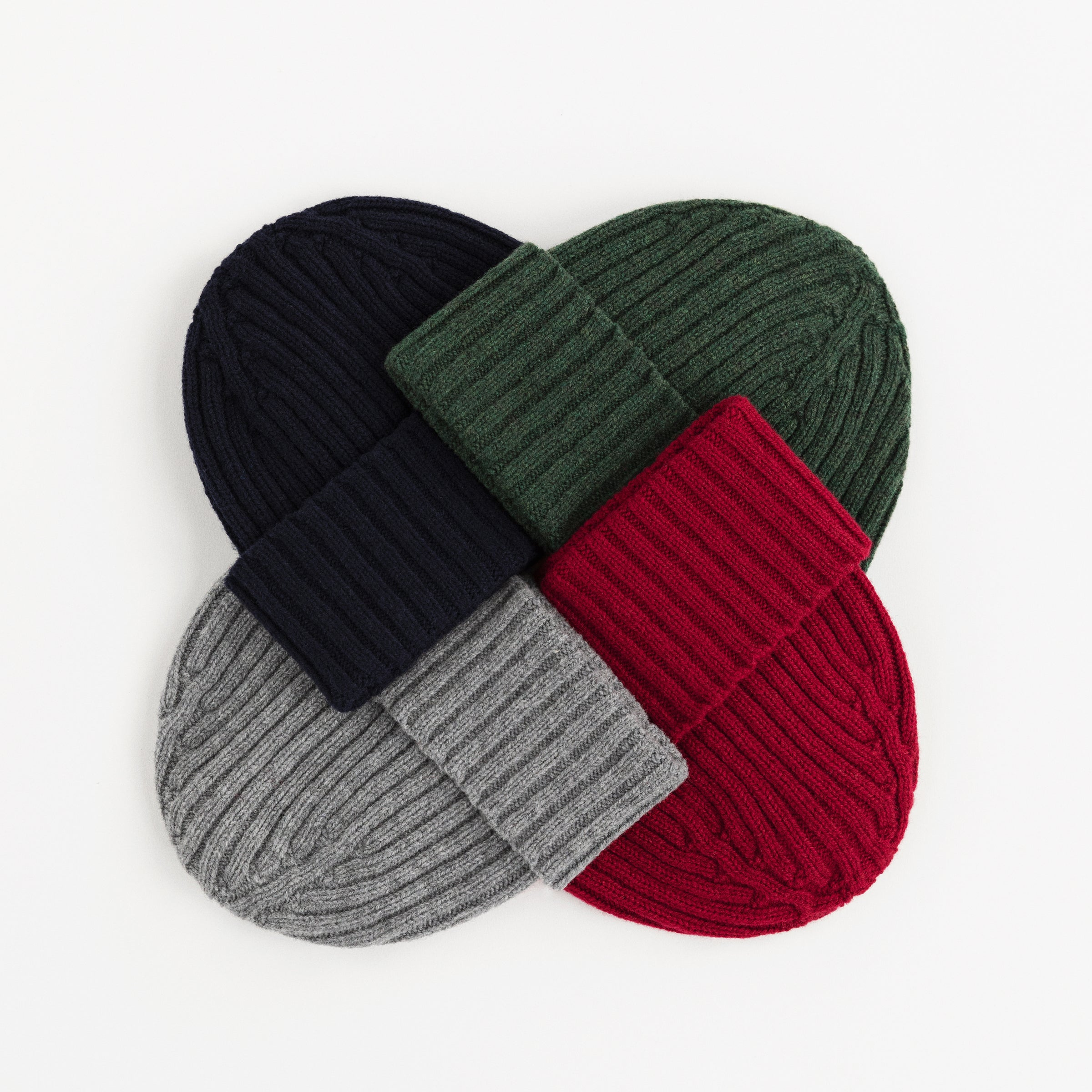ALD / Drake's Ribbed Knit Beanie
