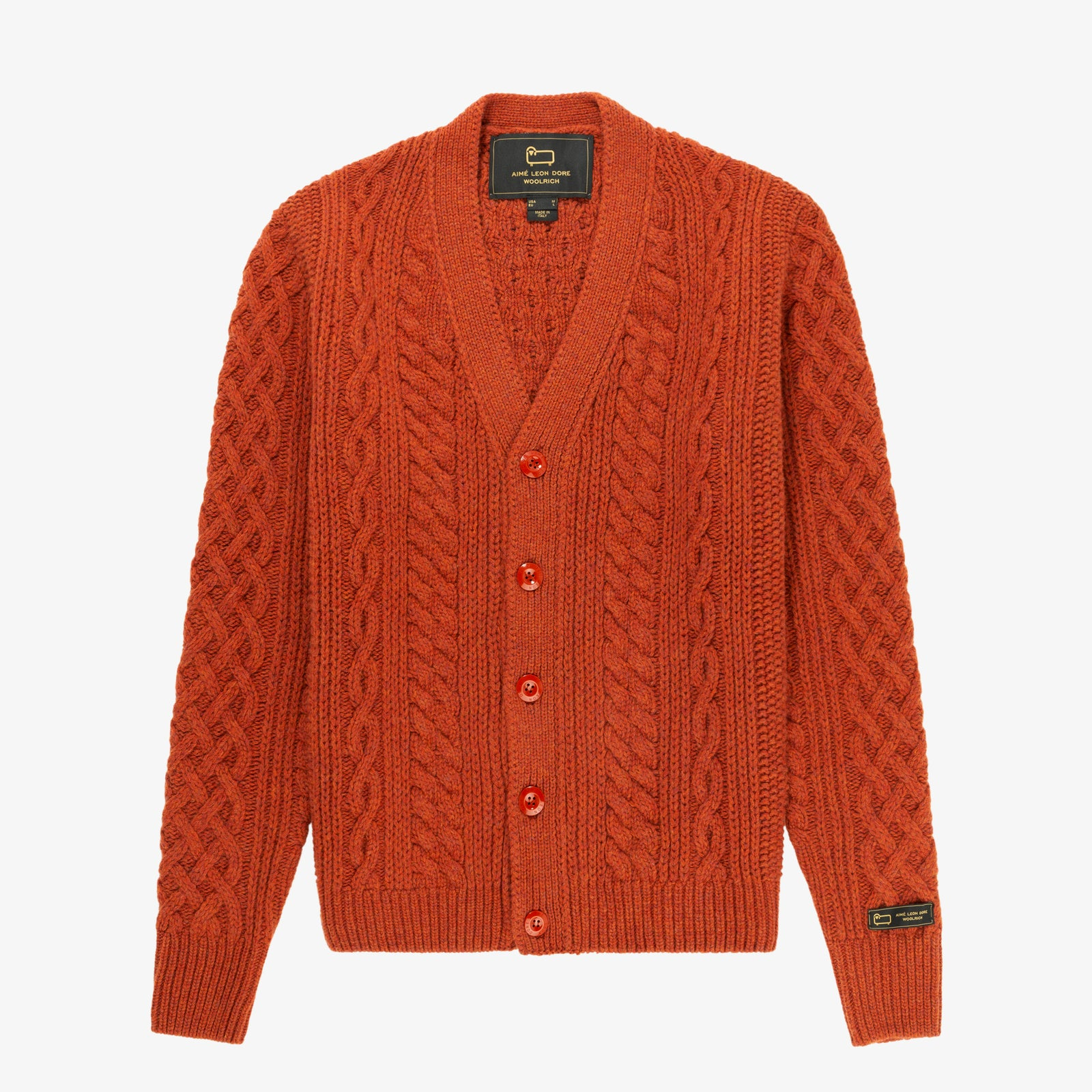 ALD / Woolrich Cable Cardigan