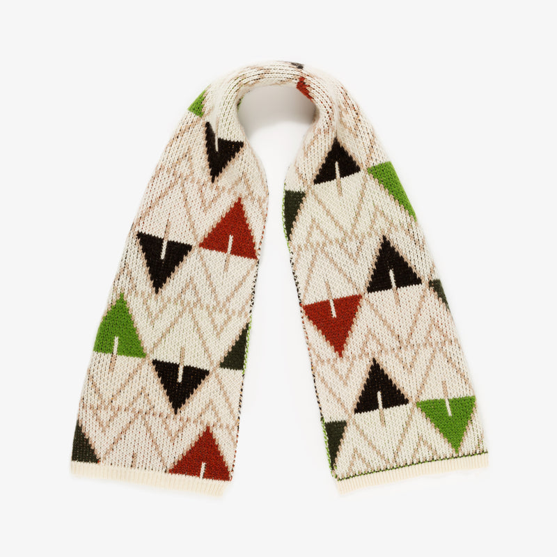 ALD / Woolrich Intarsia Scarf