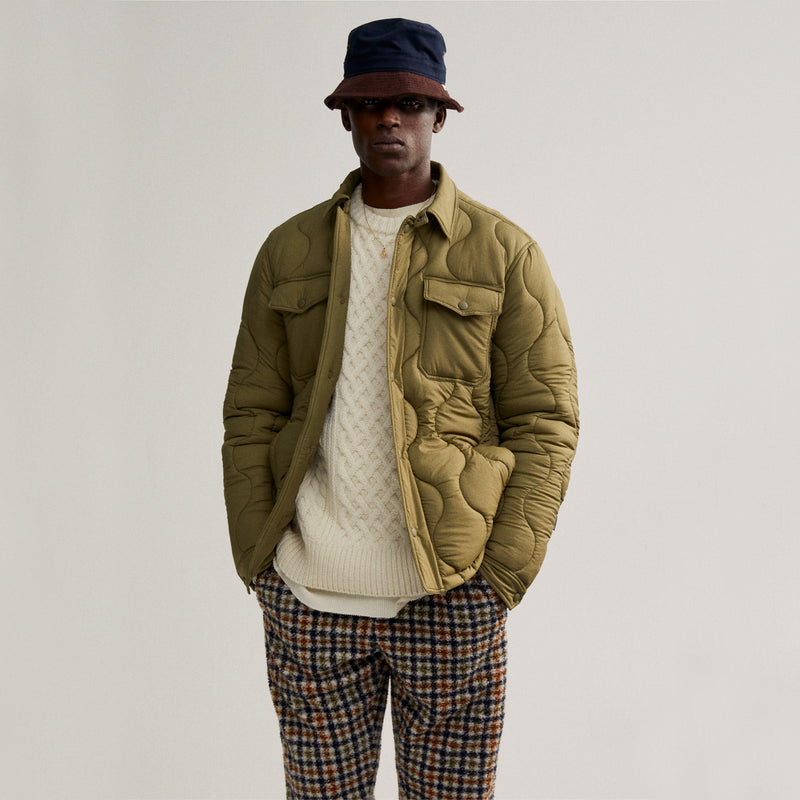 ALD / Woolrich Quilted Work Shirt