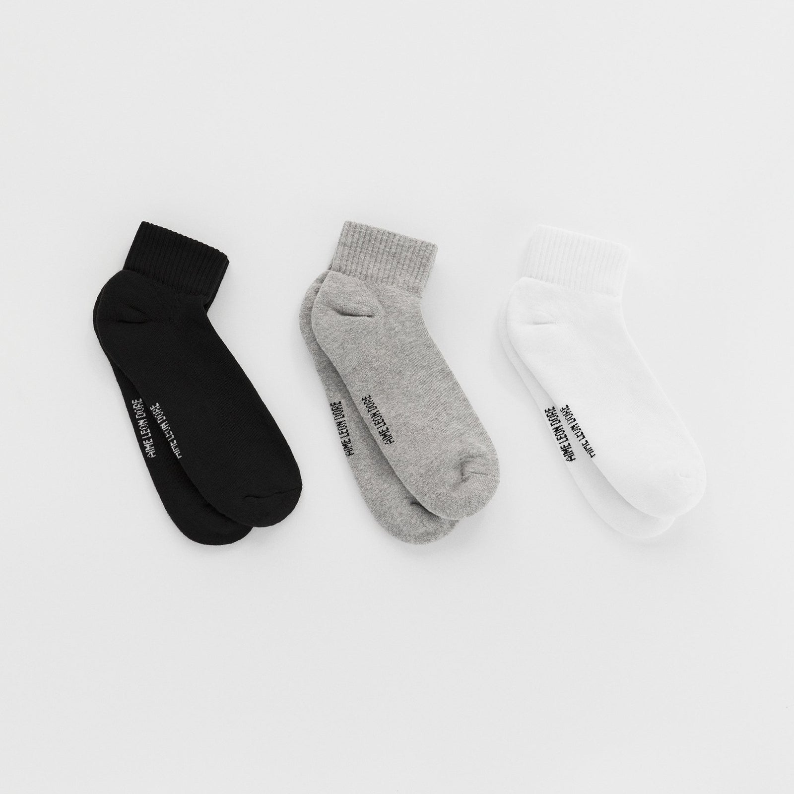 ALD Packaged Ankle Socks