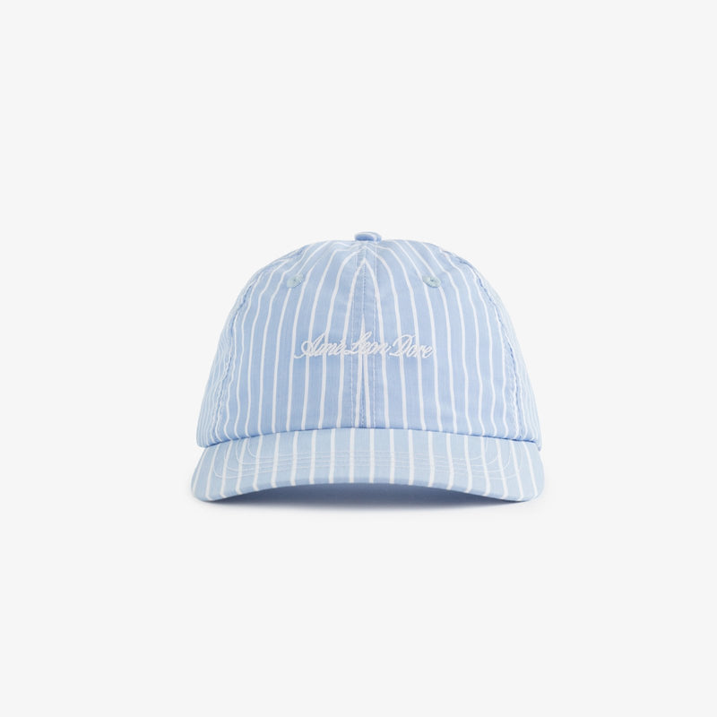 Stripe Poplin Hat