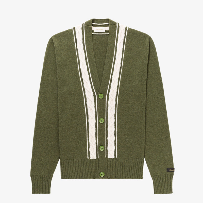 Cable Trim Cardigan