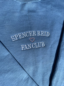 SPENCER REID FAN CLUB TOP