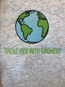 TREAT HER WITH KINDNESS