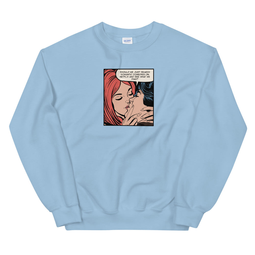ROMANTIC COMEDIES CREWNECK