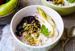 EASY BIRCHER MUESLI – SERVES 4