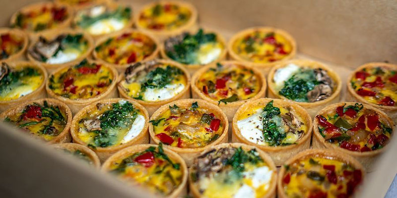 Gourmet Quiches (Vegetarian)