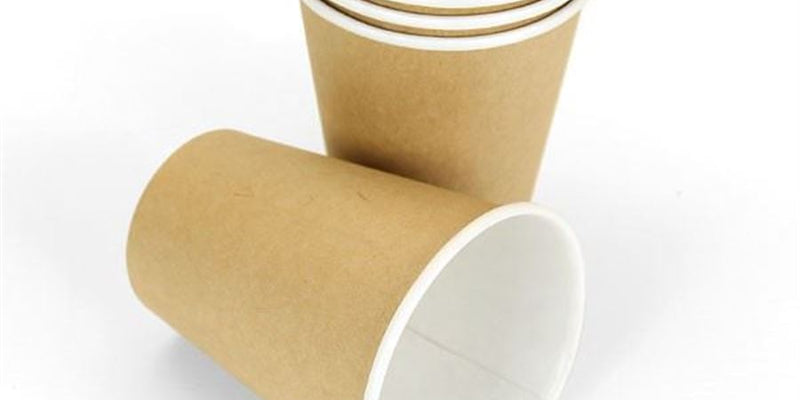 8oz Single Wall Kraft Cup