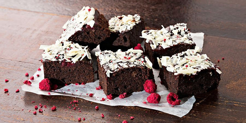 Raspberry Brownie (Gf)