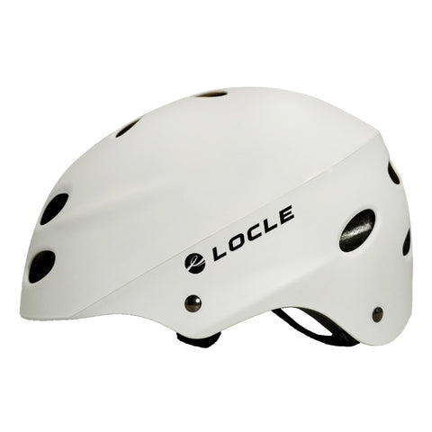 Locle White Ultralight Skiing Helmet for Men and Women