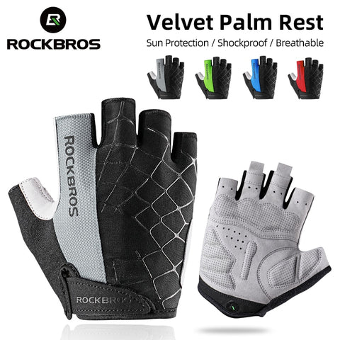 Rockboths Cycling Gloves Half Finger