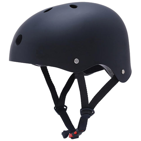 Black Skiing Helmet