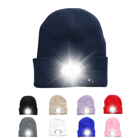 Super bright 6 Led Headlamp Beanie