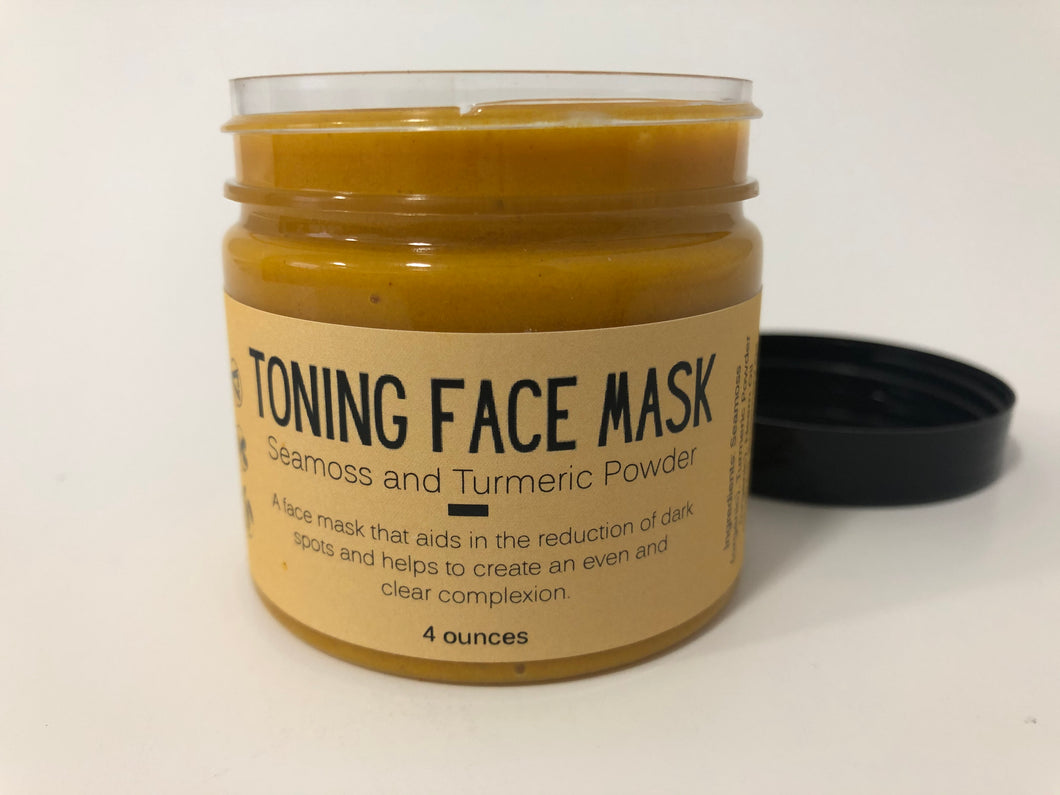 Sea Moss Turmeric Face Mask