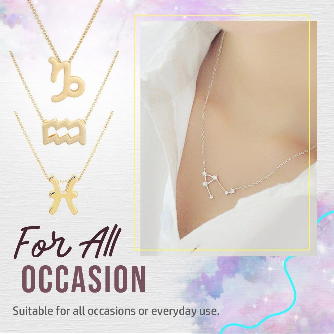 12 Constellation Necklace