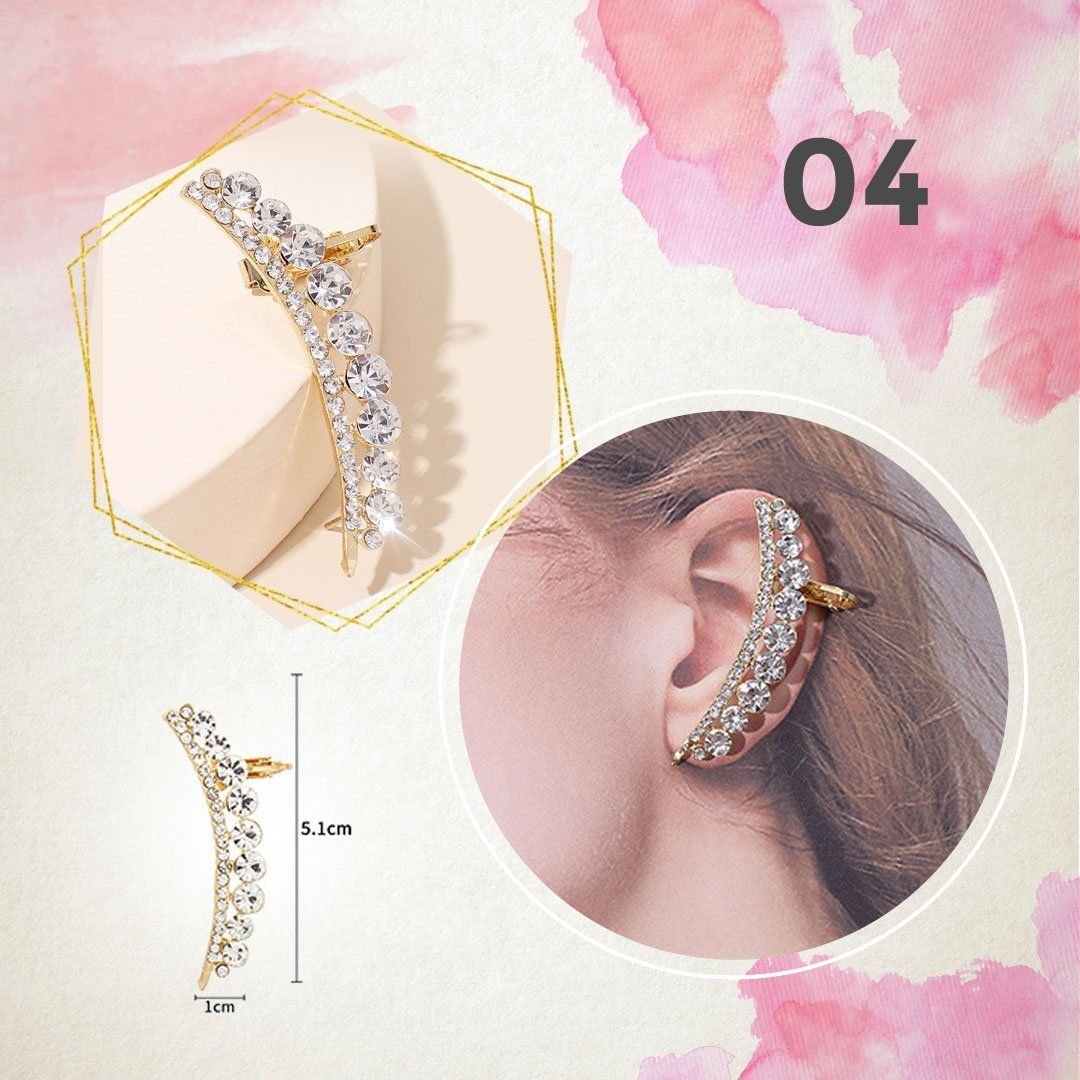 Diamond Hooping Ear Cuff