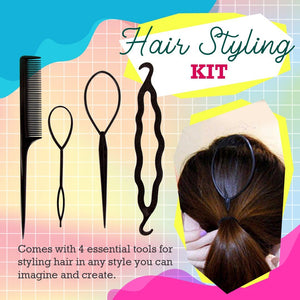Twist Hair Braiding Tools 4PCS Set