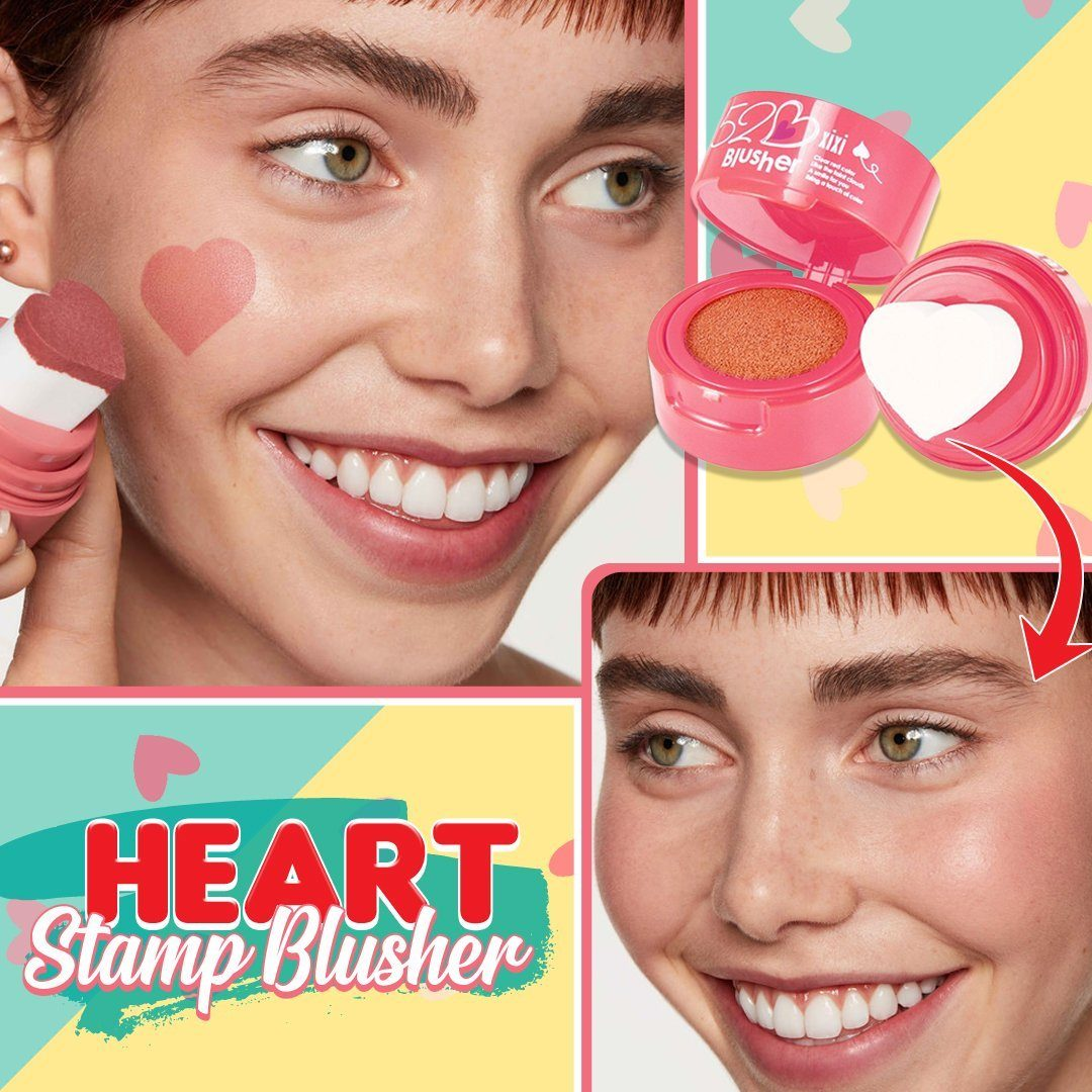 Heart Stamp Blusher