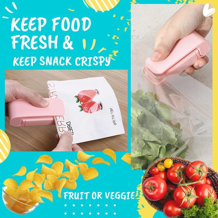Mini Food Bag Sealer (2 pc)