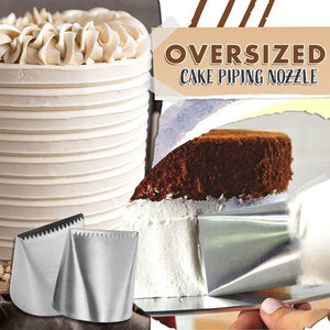 Oversized Cake Piping Nozzle