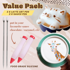 Latte Art Pen (Value Pack)
