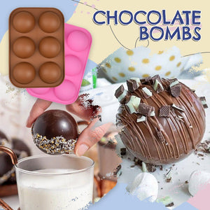 Chocolate Bomb Sphere Silicone Mold
