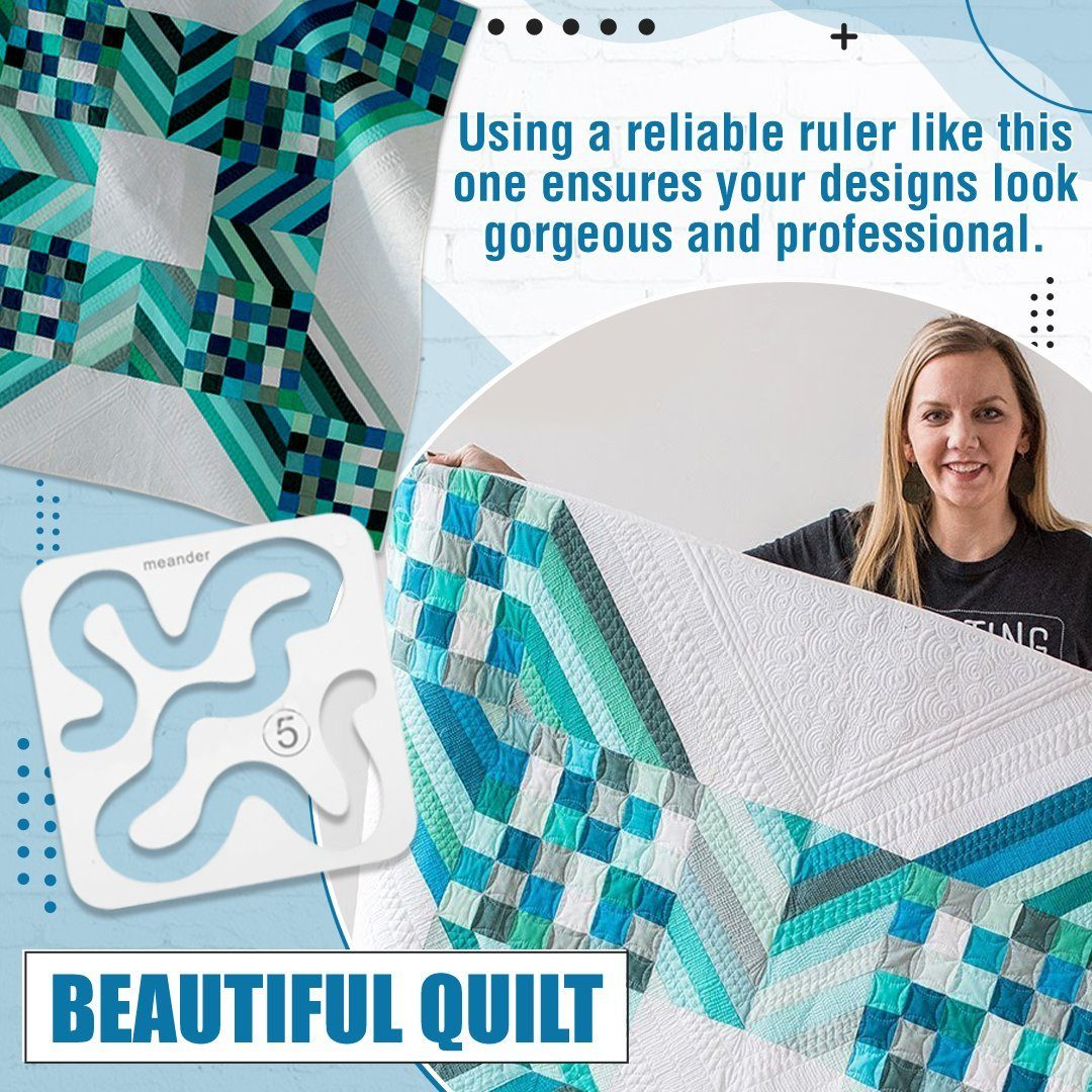 Domestic Sewing Machine Quilting Ruler