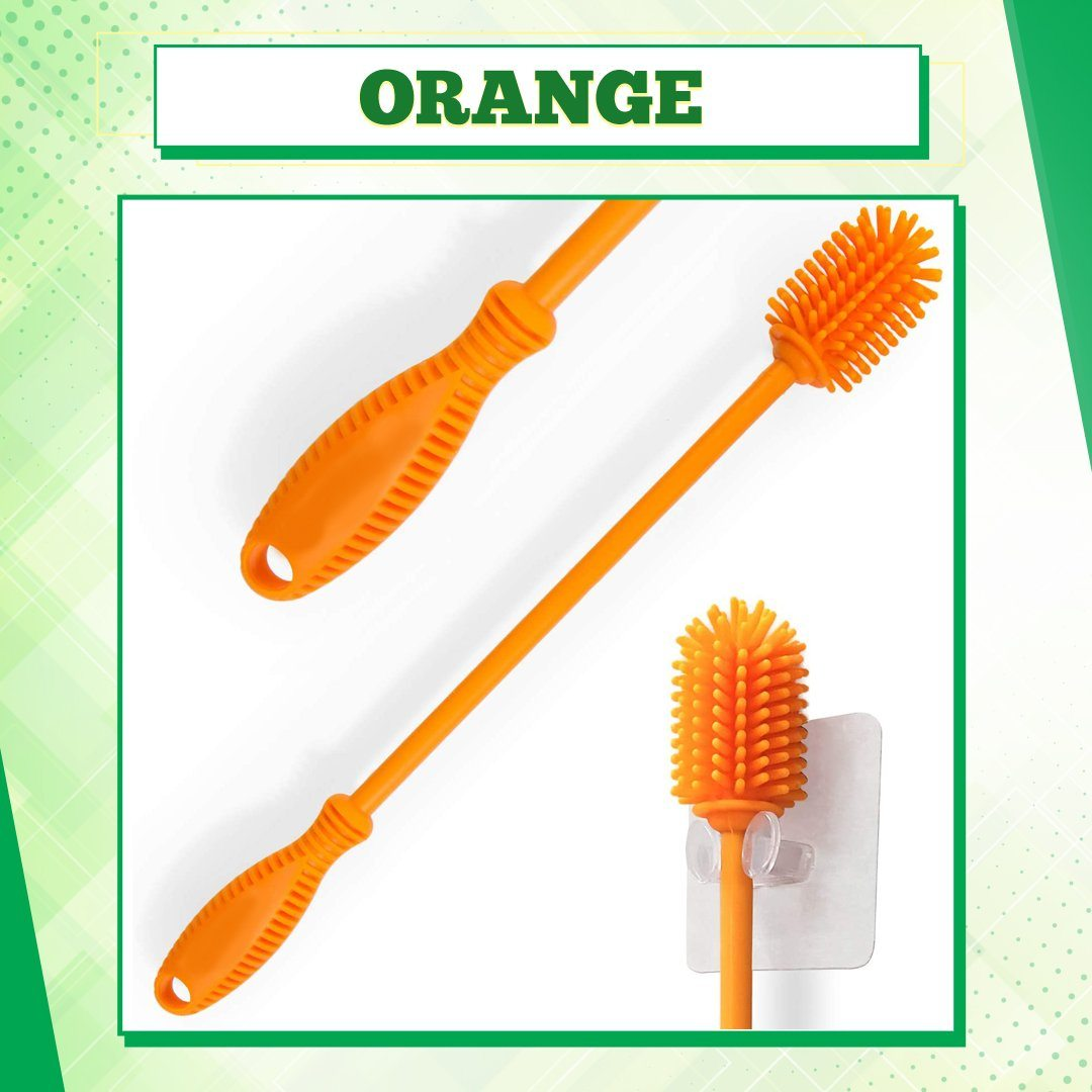 Flexible Silicone Bottle Cleaning Brush