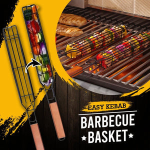 Easy Kebab Barbecue Baskets