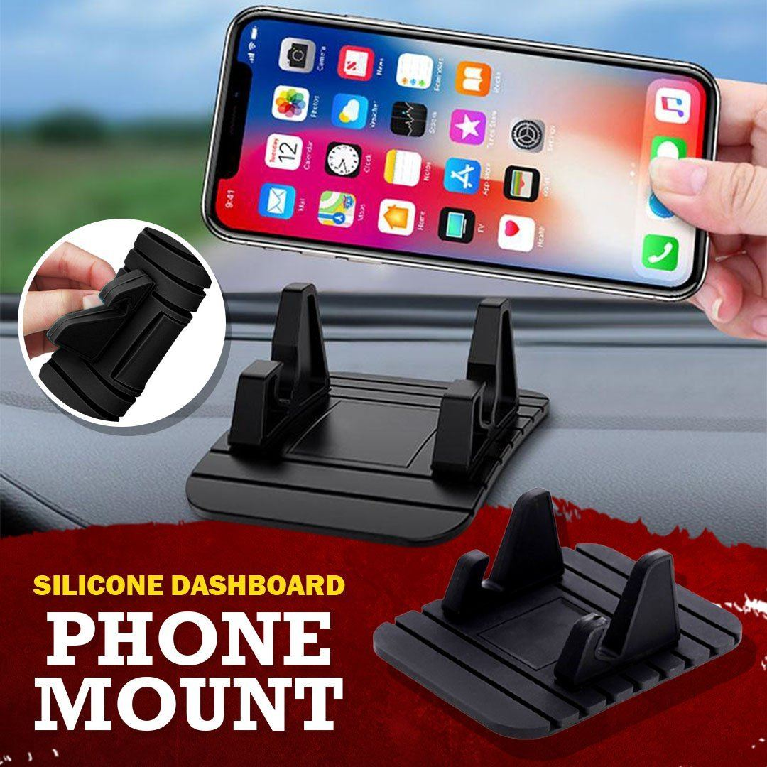 Silicone Dashboard Phone Mount