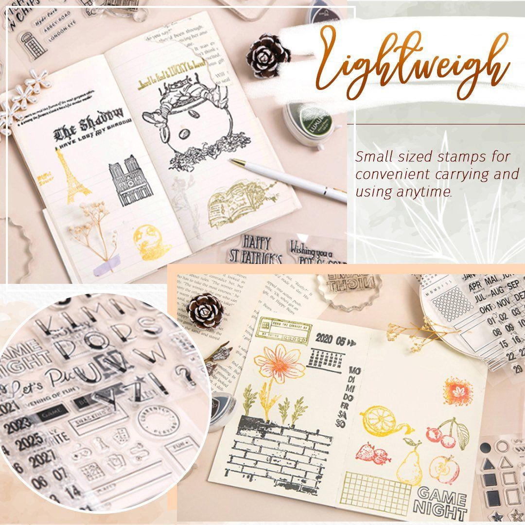 Bullet Journal Clear Stamps