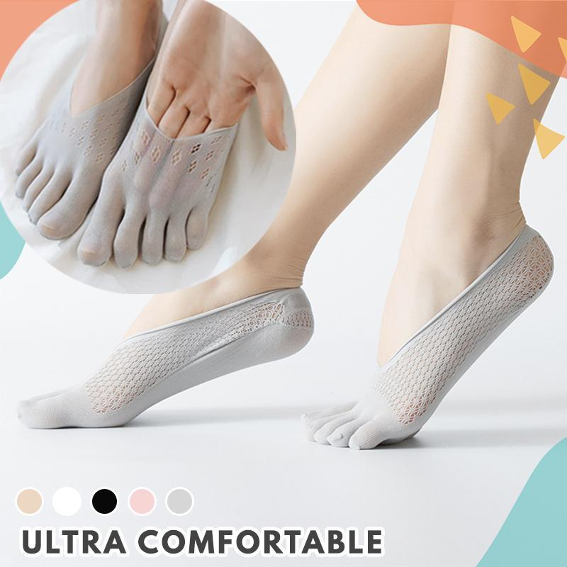 5 Toes Breathable Socks (5 Pairs Set)