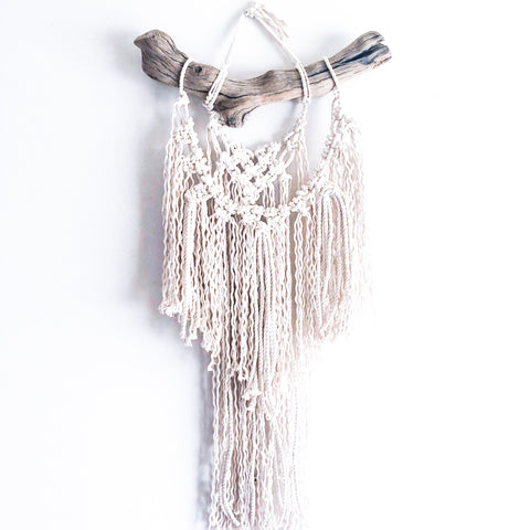 Small Driftwood Macrame Hanging