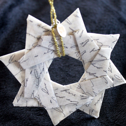 Modular Origami Star Ornament {