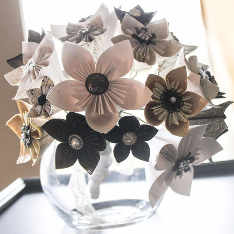 The Kusudama Origami Bouquet