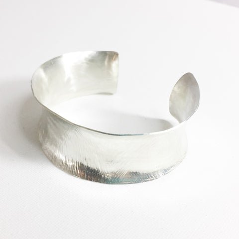 Sterling Silver Anticlastic Cuff