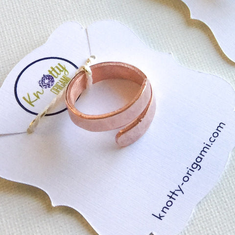 Copper Open Ring