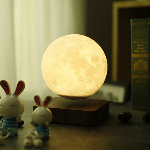 Magnetic Levitating Moon Lamp 5