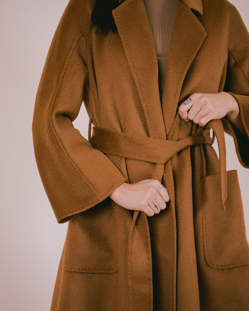 Cashmere Coat Hazelnut