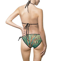 Bird Village- Women's Bikini Swimsuit - MaWeePet- Art on Apparel
