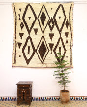 Lade das Bild in den Galerie-Viewer, Authentic Azilal rug - ABN 162 - 200x190 CM