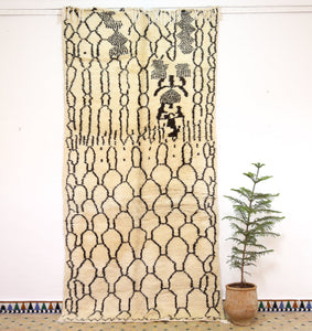 Authentic Azilal rug, - ABN 35 - 325x155 cm