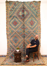 Load image into Gallery viewer, Beni Mguild berber rug - BMZY 311 - 400x195 CM