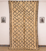 Load image into Gallery viewer, Beni Ouarain berber rug - BW 4 - 350x190 CM